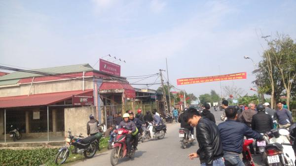 Thái Bình: Mang hung khí cướp ngân hàng Agribank giữa ban ngày