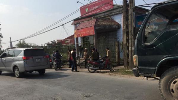 Thái Bình: Truy bắt nghi phạm cầm dao vào cướp ngân hàng