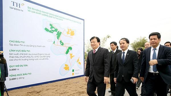 Tập đoàn TH: Trồng lúa công nghệ cao trên quê hương 5 tấn