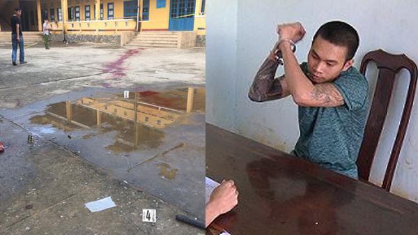 Đắk Lắk: Thanh niên xăm trổ trèo vào trường chém bảo vệ trọng thương
