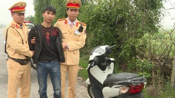 Bắt giữ đối tượng trộm xe máy ở Hà Nội mang về Thái Bình tiêu thụ