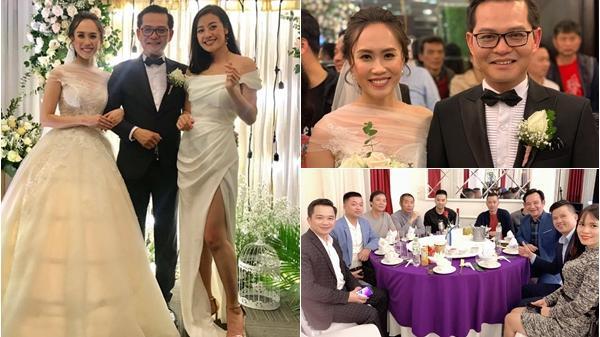 Tự Long làm MC đám cưới NSND Trung Hiếu ở Thái Bình với vợ kém 19 tuổi
