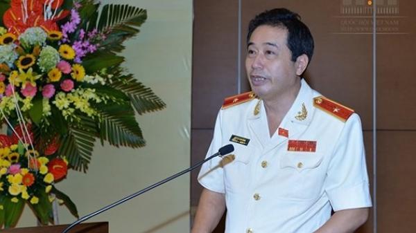 Miễn nhiệm, cho thôi làm ĐBQH tỉnh Thái Bình đối với Phó Chủ nhiệm Ủy ban Quốc phòng và An ninh Lê Đình Nhường