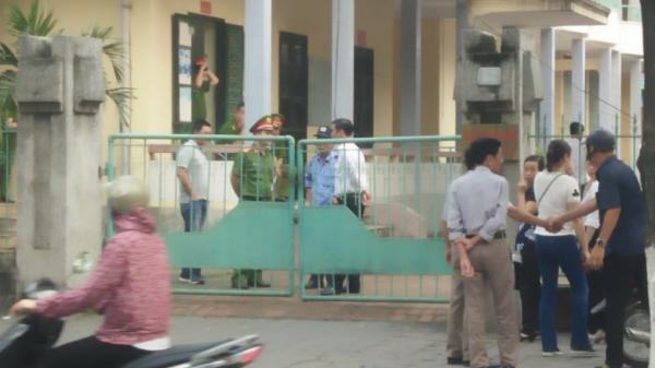Thái Bình: An ninh th.ắt ch.ặt tại phiên xử cựu Phó phòng Cảnh sát Kinh tế và đ.ồng ph.ạm x.âm h.ại nữ sinh lớp 9