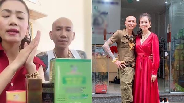 """Vợ chồng ca sĩ Phú Lê bị điều tra vì quảng cáo th.uốc không giấy phép với tác dụng... """"trên trời"""""""