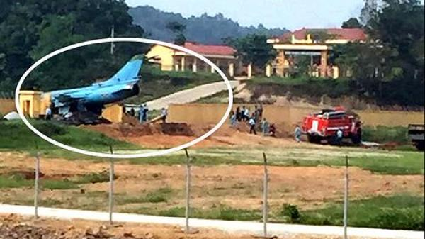 Máy bay ch.iến đấu c.ường k.ích Su-22 gặp nạn khi làm nhiệm vụ