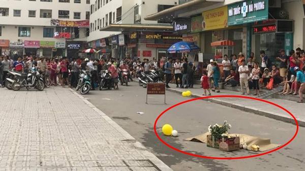 Người phụ nữ rơi từ tòa nhà chung cư Linh Đàm quê ở Thái Bình