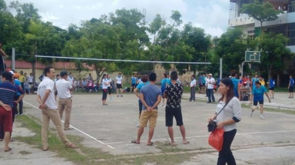 Thái Bình: Nữ vận động viên đột ngột tử vong khi đang thi đấu bóng chuyền
