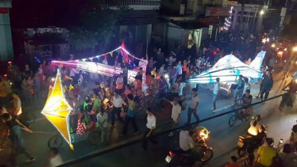 Đông Hưng (Thái Bình): Đêm trung thu trở thành lễ hội đường phố ở một vùng quê