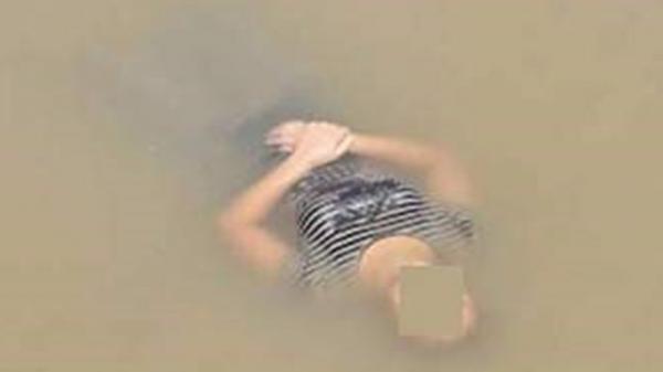 Phát hoảng khi thấy thi thể người phụ nữ trên sông Thái Bình