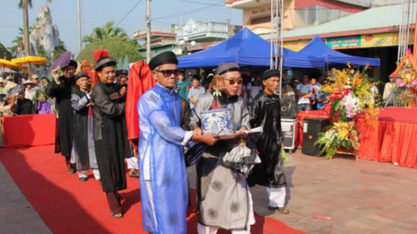 Thái Bình: Đền Đồng Bằng đón Di sản văn hóa phi vật thể Quốc gia