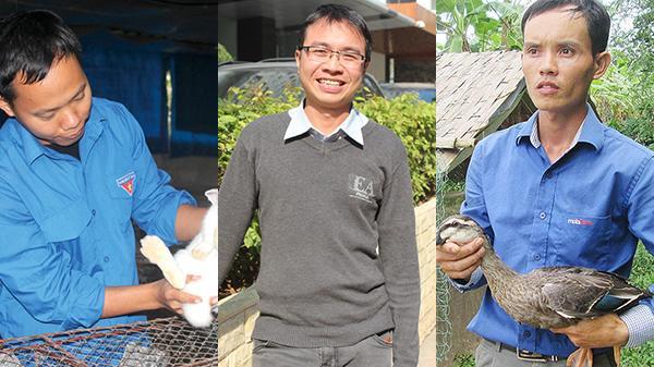 Học lực giỏi, nhưng những cử nhân này lại cất bằng đại học để... về quê chăn lợn, nuôi vịt và thành ông chủ