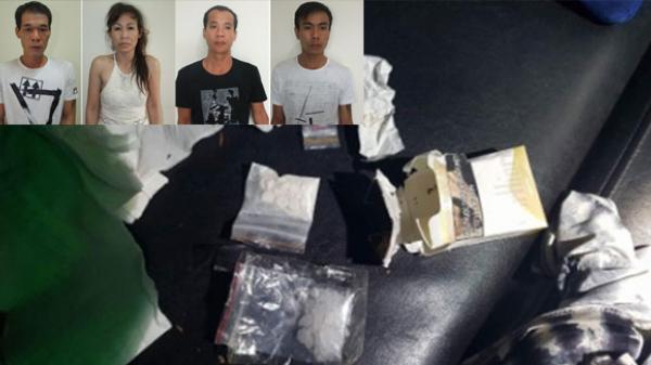 Tổ chức bữa tiệc sinh nhật bằng ma túy, 1 trong 4 đối tượng bị bắt quê Thái Bình