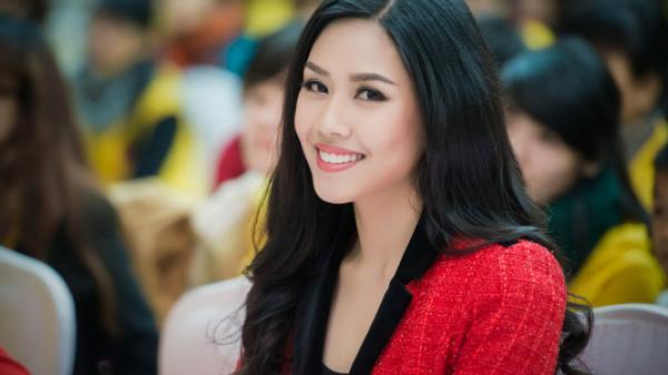 Người con quê lúa Nguyễn Thị Loan chính thức thi Hoa hậu hoàn vũ thế giới 2017
