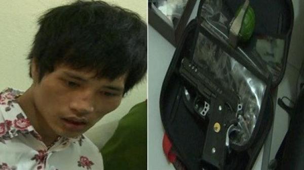 Thái Bình: Nam thanh niên bị bắt quả tang cùng lượng lớn ma túy và vũ khí