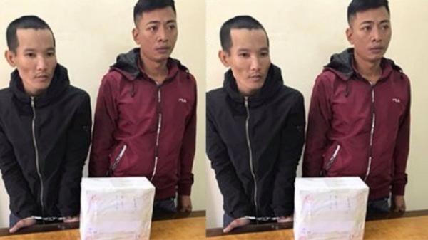 Bắt giữ 2 thanh niên lên biên giới mua 2,2 kg ma túy đá về Thái Bình tiêu thụ