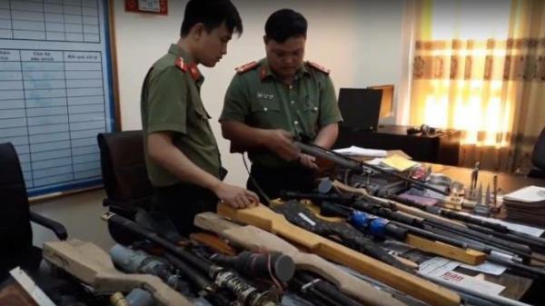 Thái Bình: Phá đường dây buôn bán súng tự chế