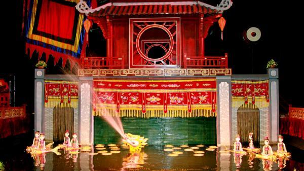 Nghệ thuật rối nước độc đáo ở Thái Bình