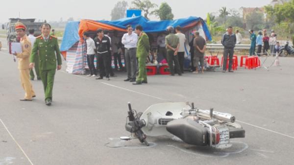 Hưng Hà (Thái Bình): Tai nạn giao thông nghiêm trọng gây chết người