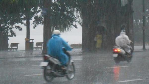 Thời tiết ngày 14/5: Bắc Bộ có mưa rất to và dông mạnh vào chiều tối