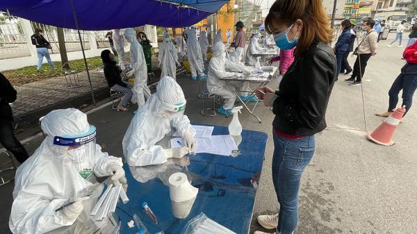 Ghi nhận trường hợp nghi dương tính SARS-CoV-2 trong cộng đồng: Là nữ tạp vụ tại một công ty ở KCN