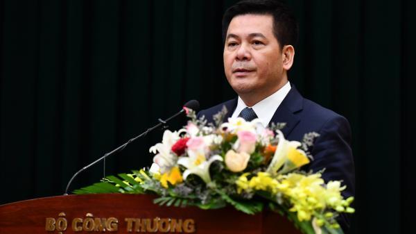Lễ nhậm chức của tân Bộ trưởng Công Thương Nguyễn Hồng Diên quê Thái Bình