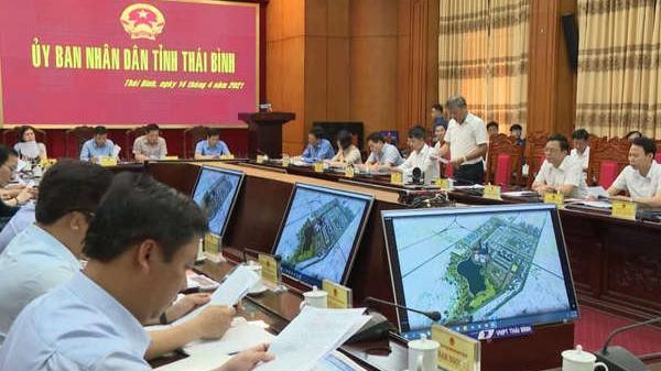 Thái Bình bàn chủ trương làm đường vành đai phía Nam hơn 1000 tỉ đồng