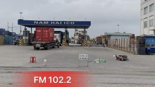VỪA SÁNG NAY: Va chạm với xe container do tài xế quê Thái Bình điều khiển, một người t.ử v.o.n.g