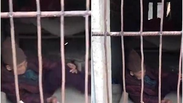 Cụ bà gần 100 tuổi bị con dâu nhốt vào chuồng lợn, nằm co ro trong giá lạnh