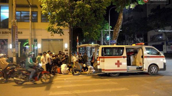 Nghi vấn xe cứu thương húc văng cô gái trẻ người Thái Nguyên 30m rồi bỏ chạy