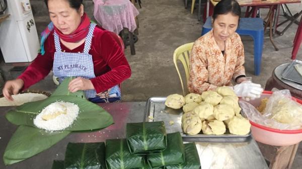 Thái Nguyên: Rộn ràng làng nghề bánh chưng Bờ Đậu dịp cuối năm