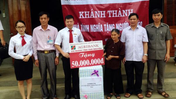 Thái Nguyên - hỗ trợ kinh phí xây nhà cho người nghèo