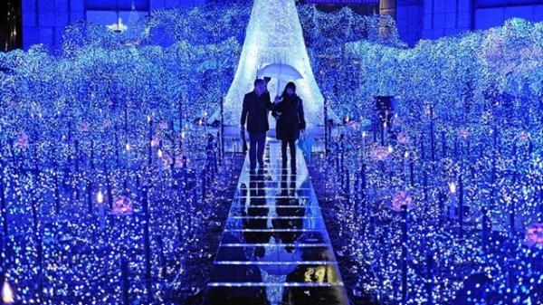 Noel này, ngay gần Thái Nguyên có một 'Thành phố ánh sáng' lung linh đến ảo diệu