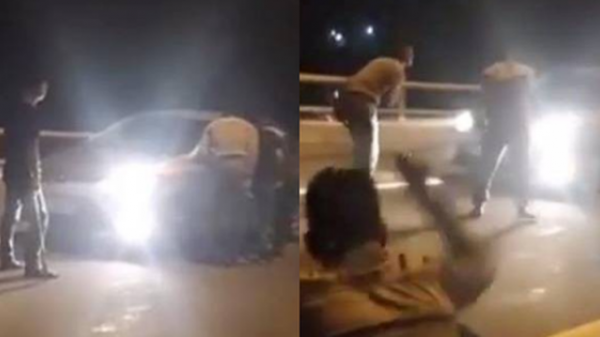 Clip: Mang hung khí lên đường cao tốc chặn xin tiền rồi livestream khoe Facebook, nhóm nam thanh niên bị chỉ trích dữ dội