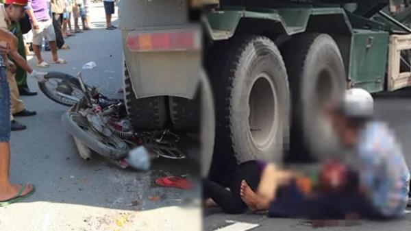 Xót lòng cảnh mẹ đi phát thiệp cưới cho con trai, chết thảm dưới gầm xe tải