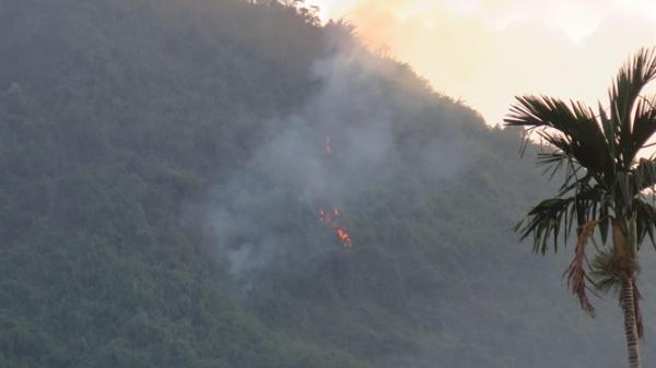 Thái Nguyên: Liên tiếp xảy ra 2 vụ cháy rừng