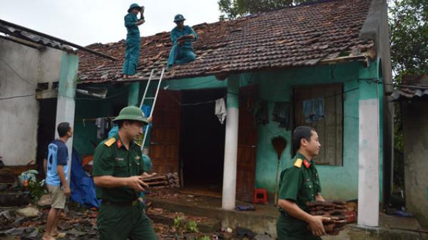 Thái Nguyên - thiệt hại lớn về tài sản do gió lốc