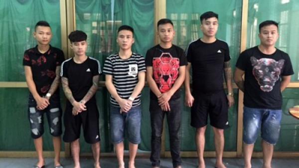 Bắt nhóm giang hồ truy sát nam thanh niên ở Bắc Ninh
