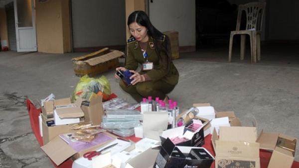 Thái Nguyên tạm giữ lô hàng hóa không nguồn gốc, xuất xứ