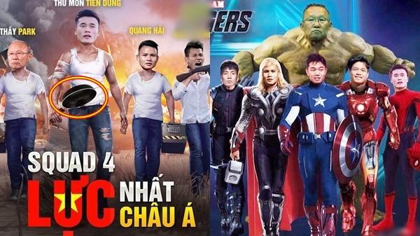 Bộ ảnh chế U23 VN hóa thân thành biệt đội siêu anh hùng gây bão mạng