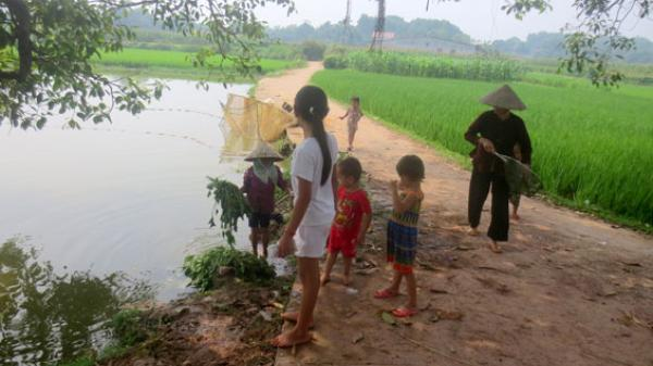 Thái Nguyên: Cảnh báo tai nạn đuối nước ở trẻ em
