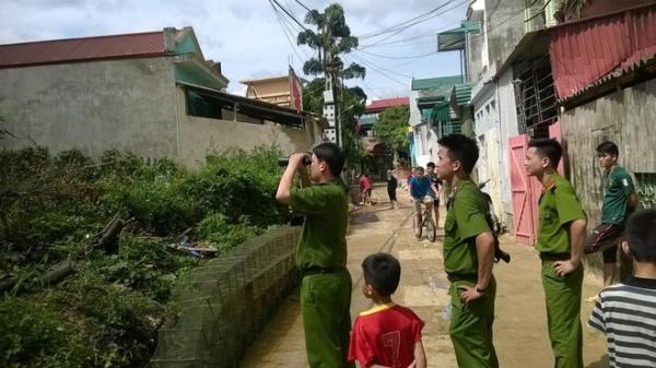 Thái Nguyên: Bắt đối tượng sau gần 4 giờ cố thủ trong nhà dân
