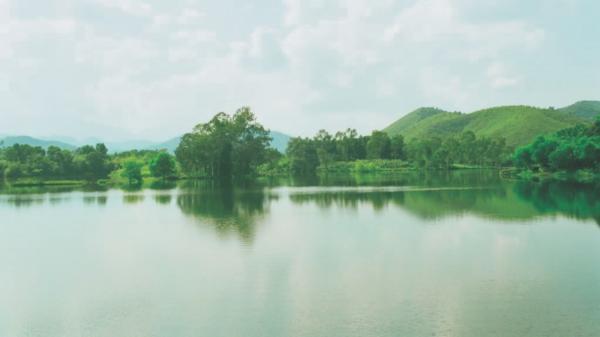 Hồ Ghềnh Chè - Một điểm du lịch sinh thái lý tưởng