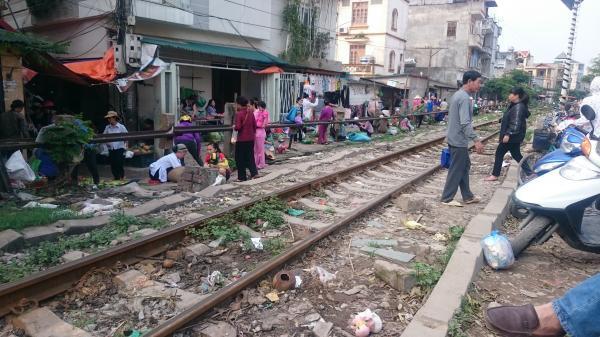Thái Nguyên: Giải tỏa họp chợ tại nhiều đường ngang giao cắt đường sắt