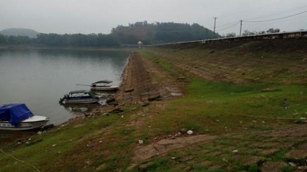 Thái Nguyên: Mưa lớn không ảnh hưởng đến chính đập hồ Núi Cốc