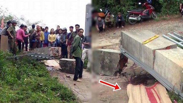 Kinh hoàng cổng trường đè chết bé trai 8 tuổi