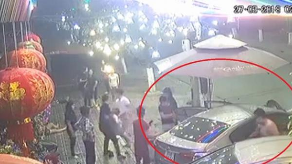 Ôtô lao lên vỉa hè, tông hàng loạt xe rồi bốc cháy ở Thái Nguyên khiến 5 người nhập viện khẩn cấp