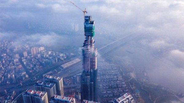 Sau 15 tháng thi công thần tốc, tòa nhà The Landmark 81 tầng thay đổi đến chóng mặt
