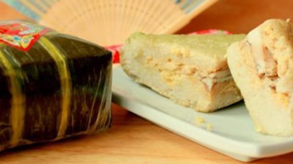 Dẻo thơm bánh chưng Bờ Đậu – Thái Nguyên