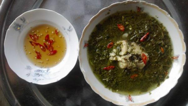 Ngất ngây với canh chua rau sắn cá lóc của người Cao Lan
